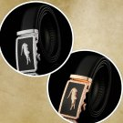 Automatic Buckle Belt Strap Waist Leather Men Comfort Ratchet Casual Fashion New