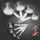 Measuring Cup Kitchen Stainless Steel Measuring Tools Sets For Baking Spoons Kit