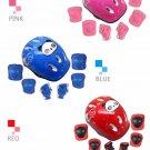Knee Elbow Pads Wrist Set Protective Kids Safety Skate Skateboard Helmet 7pcs