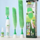Electric Go Duster Dust Multi Function Motorized Spins Cleaning Tool Feather New