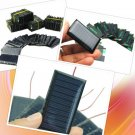 Mini Solar Cells Panel Micro Power 10pcs 5v Cells DIY Toy Lot 30ma 53x30mm Light