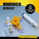 Auto Glass Repair Kit Chips Crack Resin Sealer Windshield Automotive Car Window