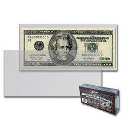 BCW Semi-Rigid Modern Size Currency Holders