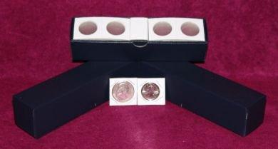 1½� x 1½� Dime Cardboard Coin Flips w/Blue boxes  (100 per box)