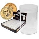 BCW Small Size Dollar storage tubes for ( Qty = 10 Tubes)