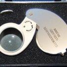 """30x Illuminated LED Jewelers Loupe w/large 25mm (1"""") Dia. Lens"""