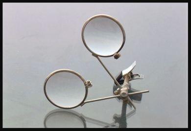 3.3x + 3.3x ewelers clip-on Double Eye Loop