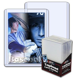 BCW 3 X 4 Topload Card Holders *25 per pack*