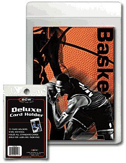 10 Pack  BCW Semi-Rigid Deluxe Card Holder