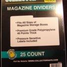 Collector Safe Magazine Divider