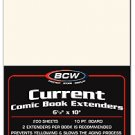 Current Comic Book Extenders