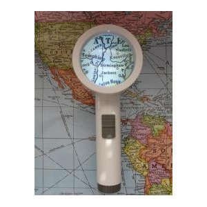TASK VISION LED STAND MAGNIFIER 4X / 12 DIOPTER ILLUMINATED