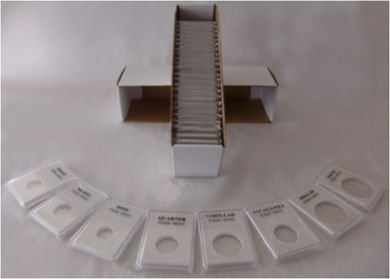 500 Coin Grading Slabs for Pennies. (WHOLESALE / CASE QUANTITY)