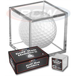 BCW Golf Ball Square (Qty = 6 Holders)