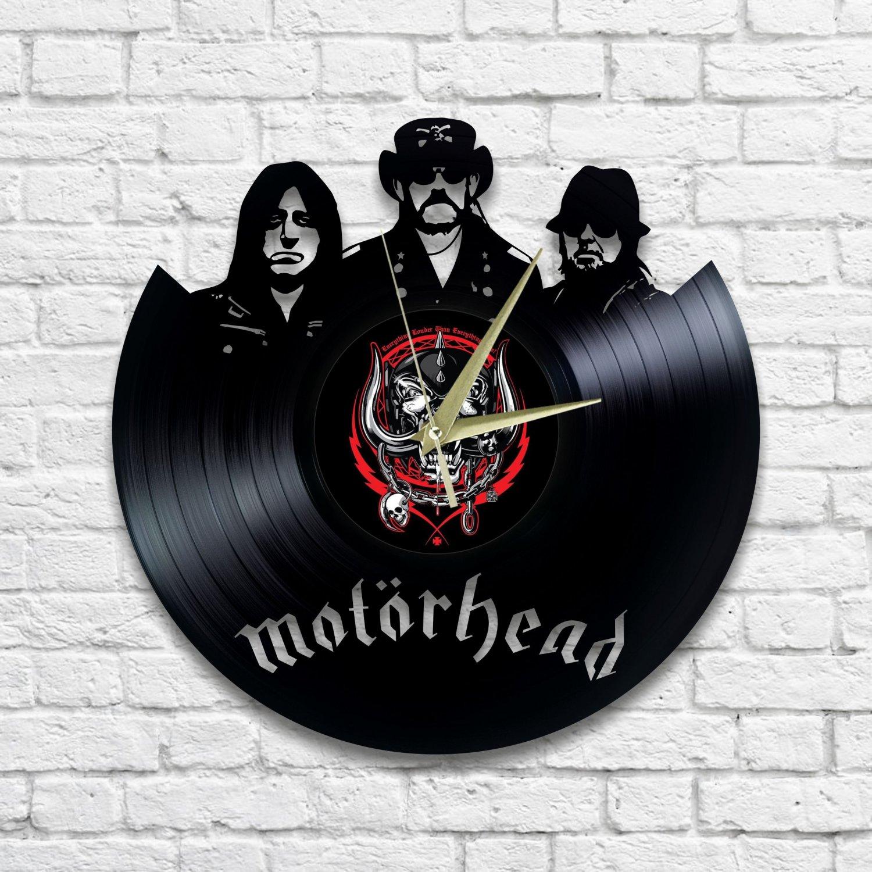 Motorhead wall clock