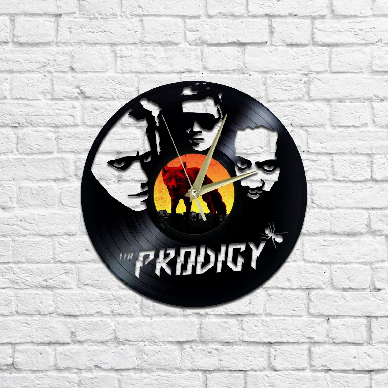 The Prodigy wall clock