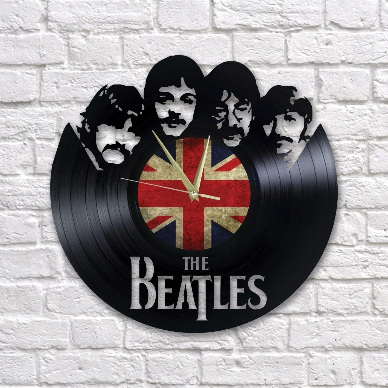 The Beatles wall clock