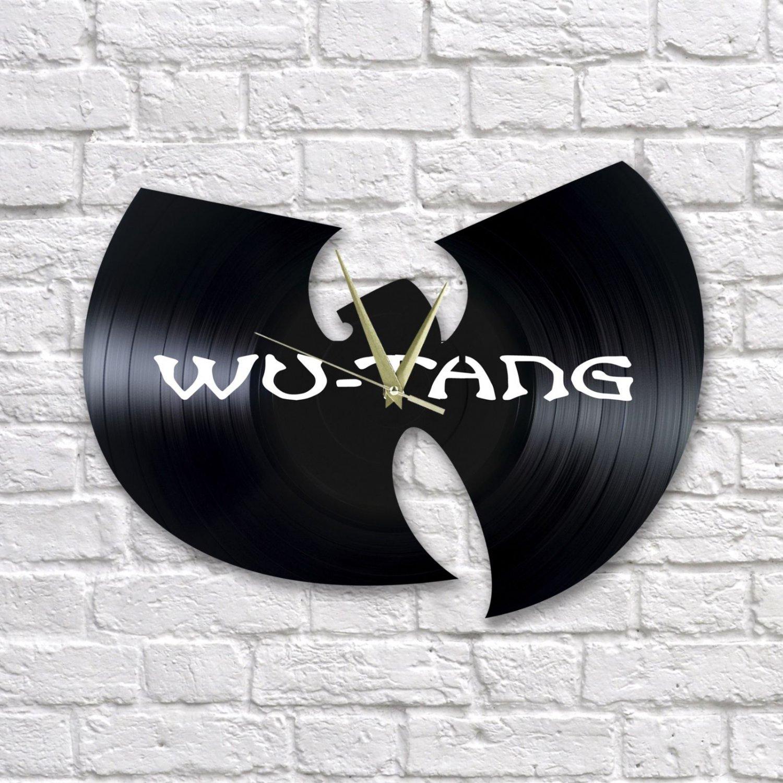 Wu-Tang Clan wall clock