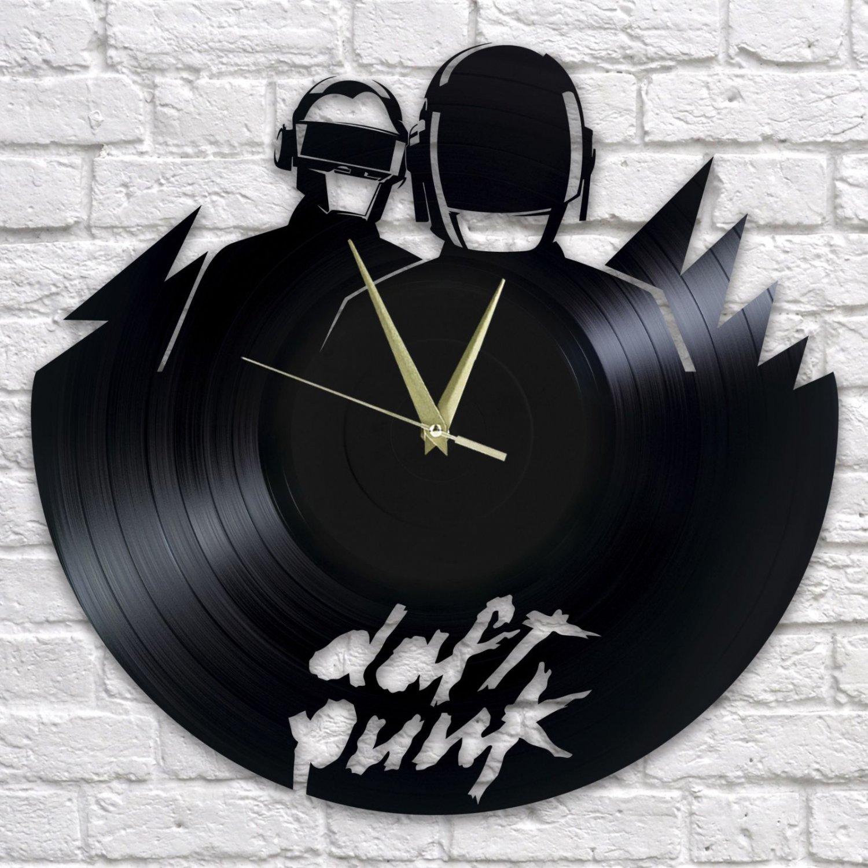 Daft Punk wall clock