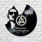 Linkin Park vinyl wall clock - Chester Bennington