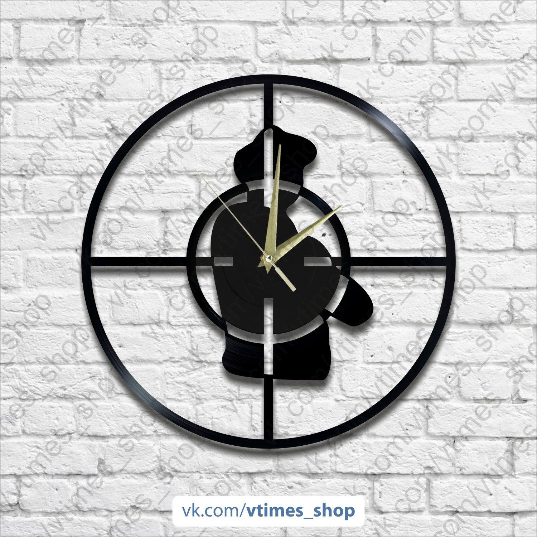 Public Enemy vinyl wall clock