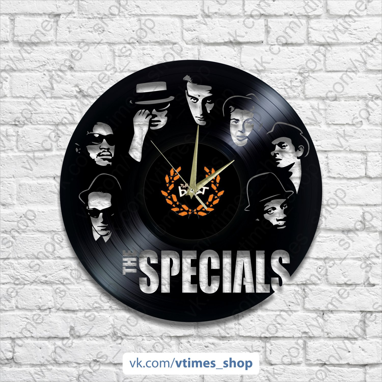 The Specials vinyl wall clock