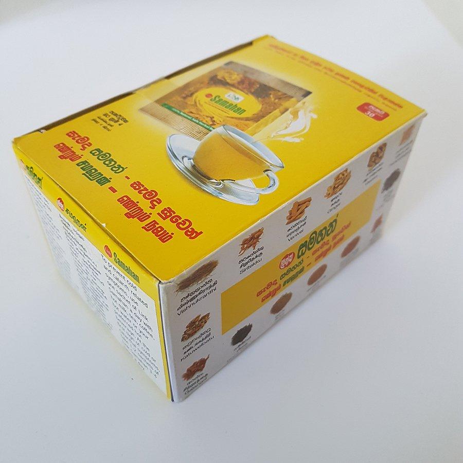 30 SAMAHAN Sachets Ayurvedic Ceylon Herbal Tea