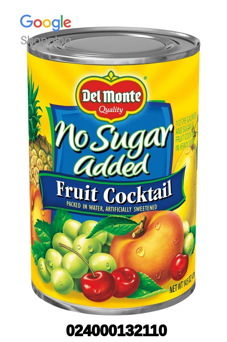 UPC 024000132110 - Del Monte Canned Fruit Cocktail, No Sugar ...14 Ounces, 6 Pak