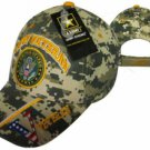 U.S. Army Digital Camo Veteran with Seal Cap