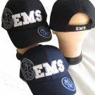 EMS Cap (Emergency Medical Services) Black Cap