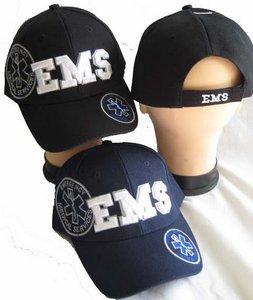 EMS Cap (Emergency Medical Services) Black Cap