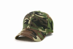 Military Camo Adjustable Strap Unisex Cap