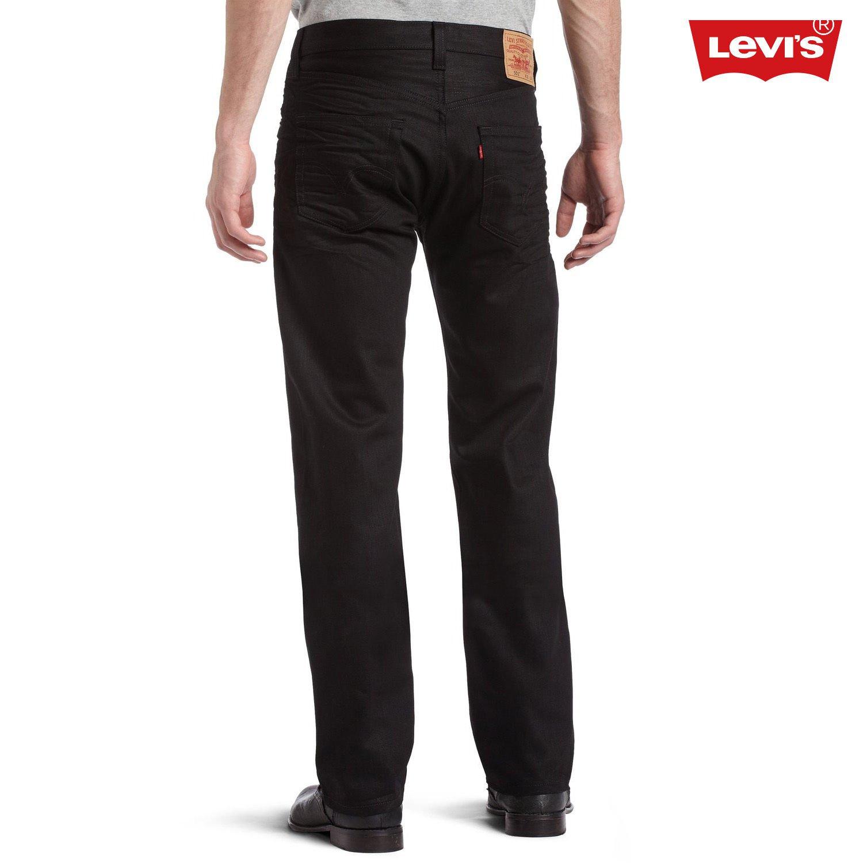 Levi's Men's 501 Sz 29x30 Original-Fit Jeans in Polished Black