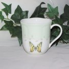 LENOX BUTTERFLY MEADOW COFFEE MUG Pale Green Fine Bone China Replacement