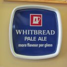 WHITBREAD PALE ALE VINTAGE BEER PUB SERVING TRAY RED STAG LOGO RETRO BREWERY BAR