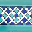 PERLA DESIGN ACCENT BORDER TILE, 8in x 4in, in Antique Ceramic Border Tile