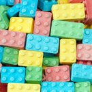 Lego Candy Blocks 1 Pound Bag, Four Different Sizes, (2, 4, 6, and 8-pin) Blox