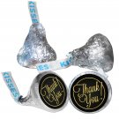 108 Thank You Hershey Kiss Kisses Labels Stickers Party Favors