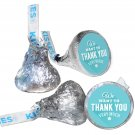 108 We Want to Thank You Very Much Hershey Kiss Labels Stickers Party Favors