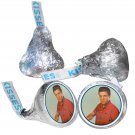 108 Elvis Presley Party Supplies Hershey Kiss Labels Stickers Party Favors