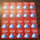 #4122 - 39¢ Hershey's Kiss 2007 Love Issue, MNH Sheet of 20 FV $7.80