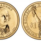 2007-D John Adams Presidential Golden Dollar BU Coin Uncirculated