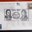 Scott# 3854 Lewis & Clark Special Card. Watford City ND, April 15, 2005 Postmark