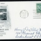US FDC  FIRST DAY COVER # 1009 GRAND COULEE DAM 1952 BY ARTCRAFT