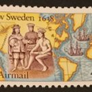 Scott #C117 - New Sweden - US Mint Airmail Stamp