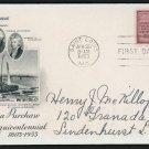 US FDC #1020 Louisiana Purchase, ArtCraft Lewis and Clark Thomas Jefferson