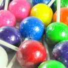 Jumbo Jawbreaker Pops on a Stick - Mixed Colors - 36 Count Tub