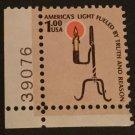 Scott 1610 US Stamp 1979 $1 Rush Lamp Americana Series MH