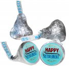 108 Happy Retirement Party Hershey Kiss Kisses Labels Stickers Party Favors