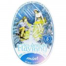 Les Anis de Flavigny Candy Mint, 1.75 oz Oval Tin From France